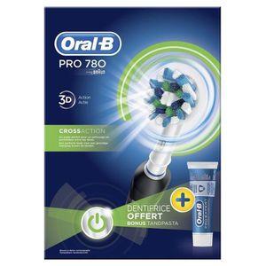 TONDEUSE MULTI-USAGES Brosse à dents électrique Oral-B Pro 780 CrossActi