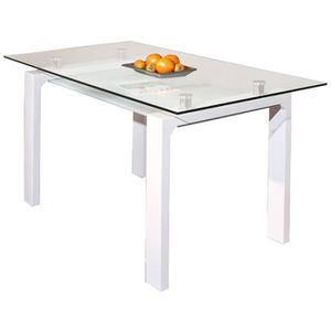 Table a manger 150x150 achat vente table a manger for Table carree 150 x 150