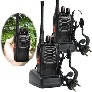 TALKIE-WALKIE talkie walkie Baofeng BF-888 s 2PCS UHF 400-470MHZ