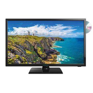 Téléviseur LED Téléviseur LED HD 18,5'' (47 cm) 12/24 Volts + DVD