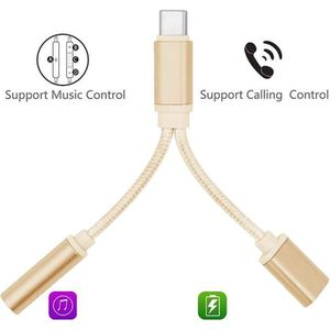 ADAPTATEUR AUDIO-VIDÉO  CABLING® USB C Adaptateur USB C vers Jack Audio Au
