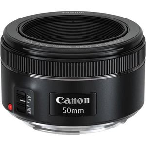 OBJECTIF Canon EF 50mm f/1.8 IS STM