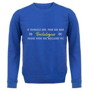 SWEATSHIRT Dressdown Sweatshirt Je travaille dur pour que mon