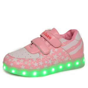 BASKET  Chaussures de chaussures lumineuses chaussures ch