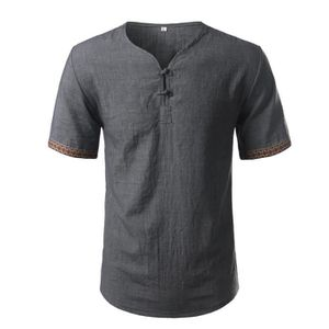 huge discount dabbd 069c0 chemise-lin-homme-broderie-henley-chemise-coton-ca.jpg
