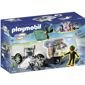 UNIVERS MINIATURE PLAYMOBIL 6692 Super4 Véhicule de mission Techno C