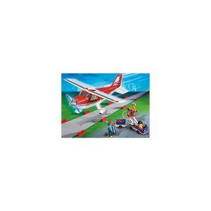 UNIVERS MINIATURE Playmobil City Action 9369 Avion rouge