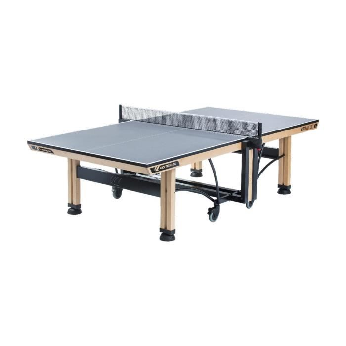 Cornilleau table de ping pong indoor 850 wood ittf montee prix pas cher c - Prix table de ping pong ...