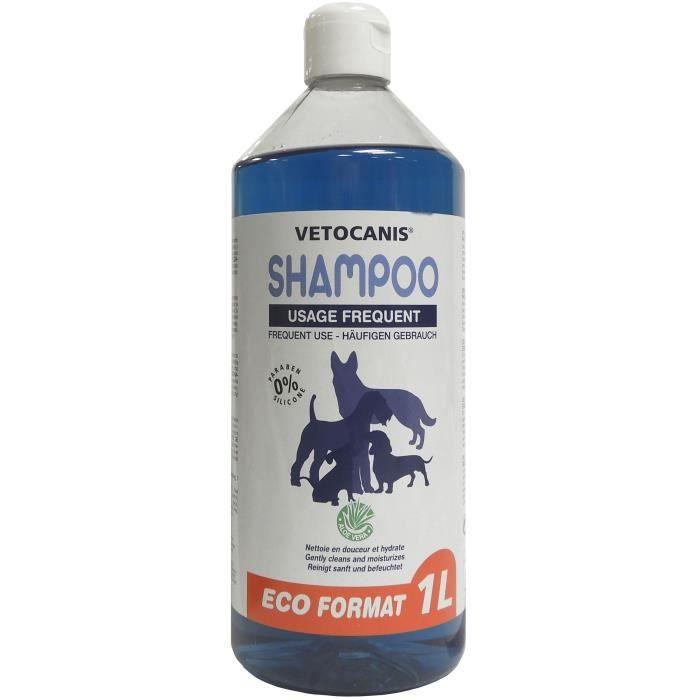 VETOCANIS Shampoing pour Chien - Format Economique 1L
