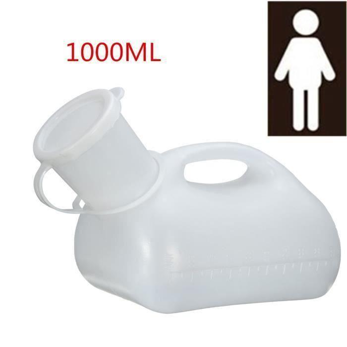 1000ML Urinoir Urinal Avec Poignee Bouchon Pour Homme Randonnée Camping Voyage En Plein Air My02991 Ma71327