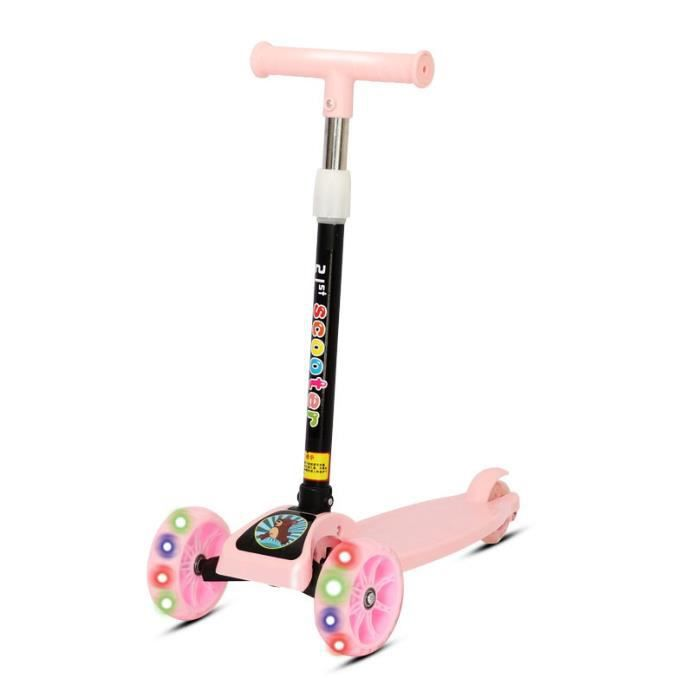 Scooter pour enfants Scooter Sport Migao Tricycle Baby Car Scooter Scooter Flash Pliant Walking Car