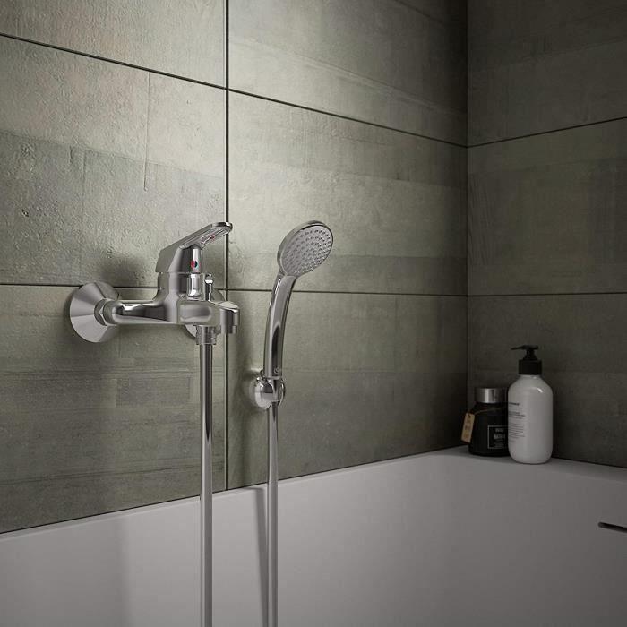 Ideal Standard II B0256AA Robinet mitigeur bain-douche avec accessoires