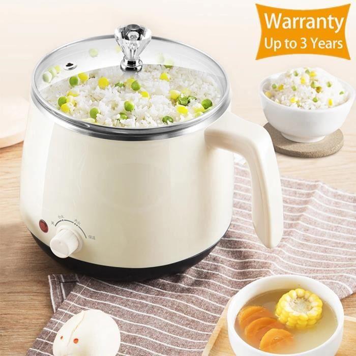 Mini cuiseur à riz multifonction 220V Cuiseur à riz multi-pots disponible à une / double couche