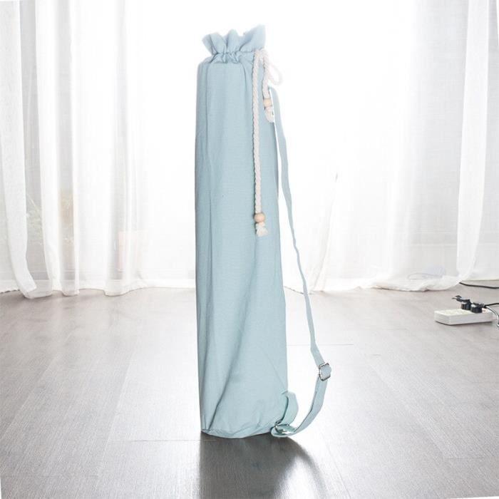 Tapis de Yoga en toile pour femmes, sac à dos Portable avec bandoulière, Pilates, fournitures de rangement~Lig LA58683868