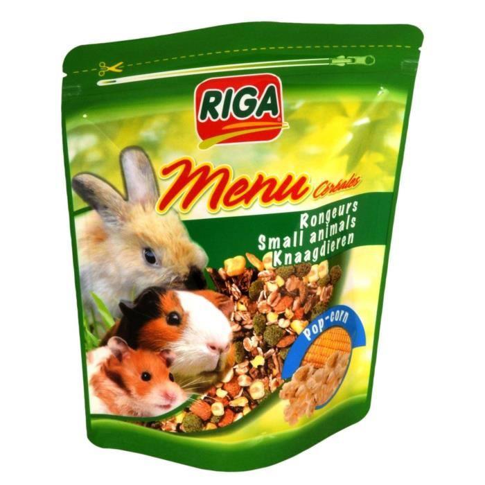 RIGA Menu ceréales pop - Pour rongeurs - 500gr