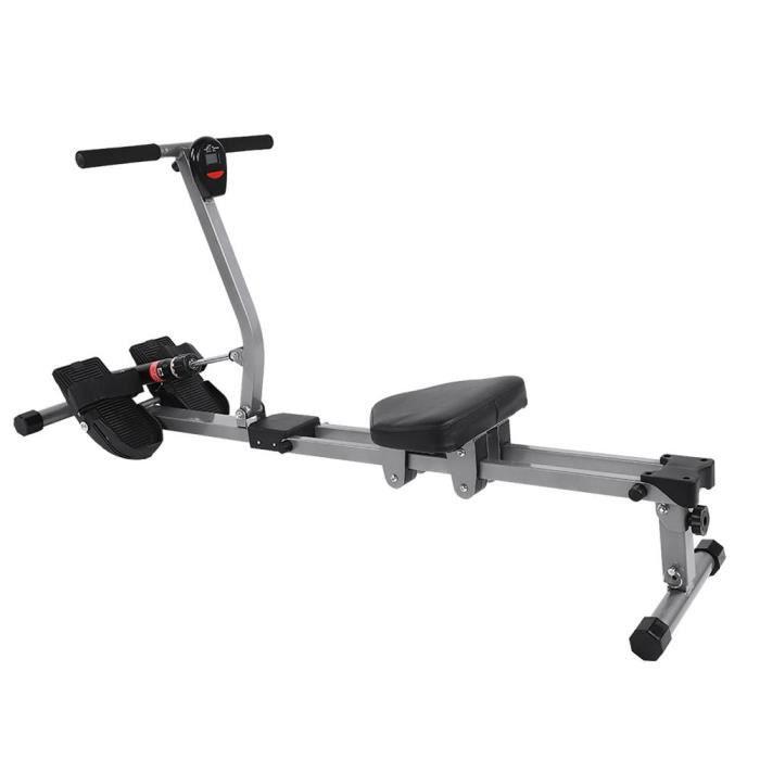 ESTINK rameur de gym Machine à ramer en acier Cardio Rower Workout Body Training Home Gym Accessoire de Fitness