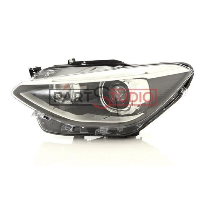 Optique, phare avant gauche BI-Xenon conducteur, BMW Série 1 F20 de 11/11 à 03/15