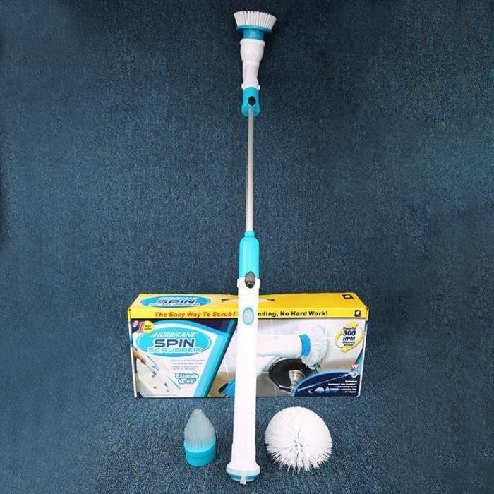 Spin Scrubber Cleaning Brush sans fil - Brosse de nettoyage - rechargeur