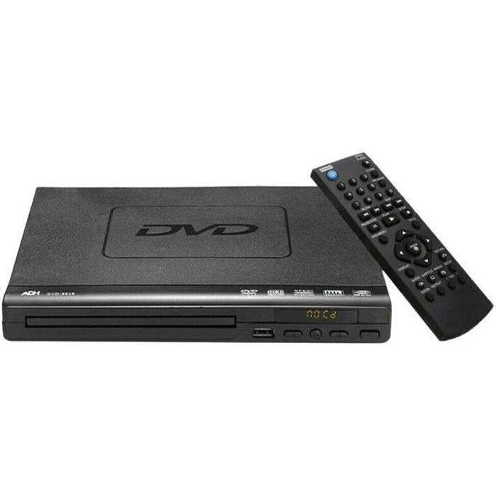 HD HDMI DVD Player Multi Region ADH CD VCD Musique Disque Upscaling USB Remote