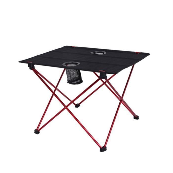 pliantes pour la légère de pique nique Tables de plage camping portative pliante compacte table de camping en plein airrouge 8nmvNy0wO