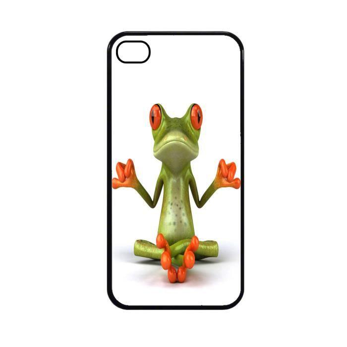 Coque protection iPhone 5C Grenouille zen ref 356 - Cdiscount ...