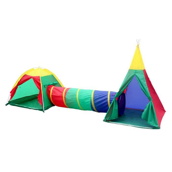 tente de jeu 3 en 1 pour enfant formes igloo tipi int rieur ext rieur achat vente tente. Black Bedroom Furniture Sets. Home Design Ideas