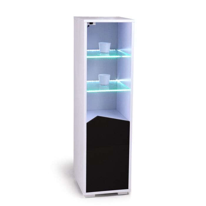 voyager tag re lumineuse led laque blanc porte achat. Black Bedroom Furniture Sets. Home Design Ideas