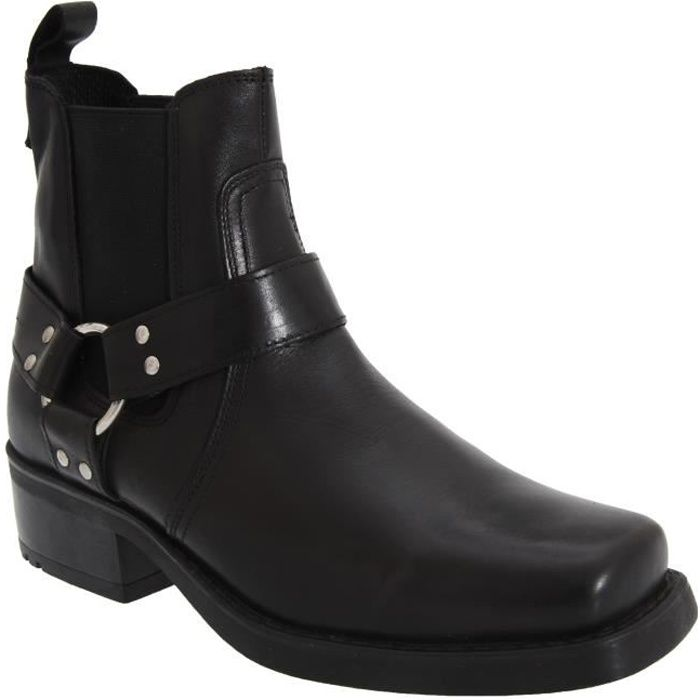 Gringos Low Harley - Bottines en cuir - Homme