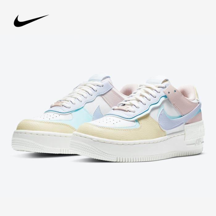 Nike Air Force 1 Shadow CI0919-106 Blanc - Cdiscount Chaussures