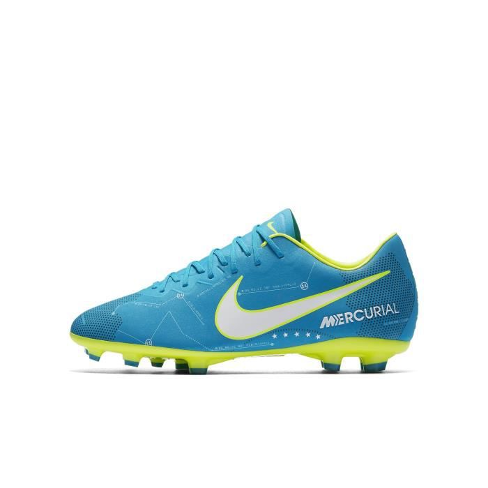 new product 670fb 03f6a CHAUSSURES DE FOOTBALL Nike Jr. Mercurial Vapor XI Neymar FG, Intérieur,