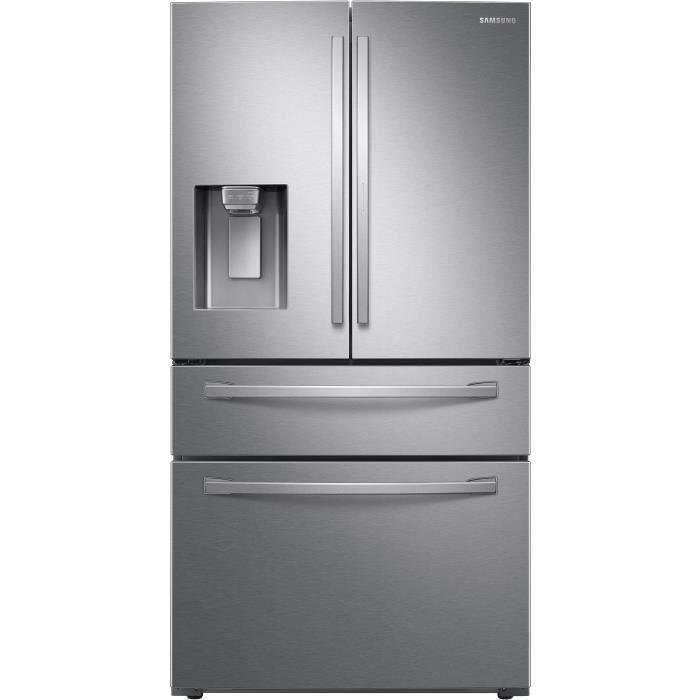 RÉFRIGÉRATEUR AMÉRICAIN SAMSUNG - RF22R7351SR- Réfrigérateur multi portes