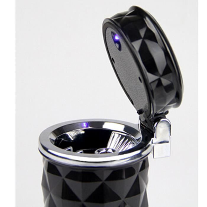 vococal portable cigarette cendrier voiture ashtray avec led lampe achat vente prise allume. Black Bedroom Furniture Sets. Home Design Ideas