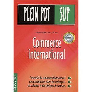AUTRES LIVRES Commerce international ; bts