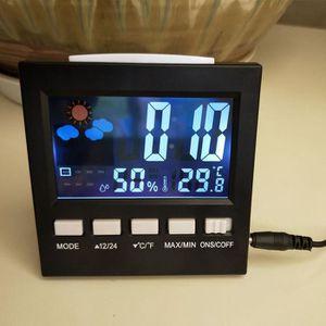 STATION MÉTÉO Muti-Auj Mini Digital Thermomètre Hygromètre Stati