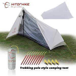 TENTE DE CAMPING Version light grey - Es - Hitortrekking Tente 800g