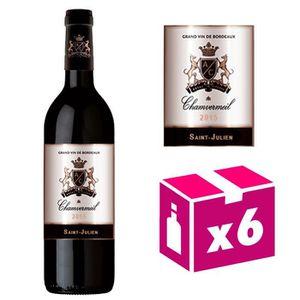 VIN ROUGE AOC Saint Julien 2011 vin rouge – Carton de 6 bout