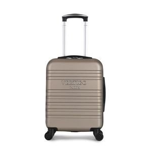 VALISE - BAGAGE Valise Cabine-ABS -Rigide -50 cm DUBAI CHAMPAGNE