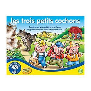 JEU SOCIÉTÉ - PLATEAU Orchard Toys Societe-Trois Petits Cochons-Jeu de P