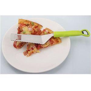 PALETTE - CORNE  CS Pelle à Pizza Inox Fromage Multifonction+Ouvre-