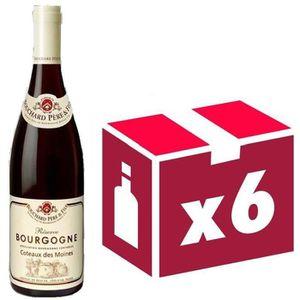 VIN ROUGE Bourgogne Coteaux des moines Bouchard 6x 75cl vin