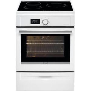 CUISINIÈRE - PIANO Cuisinière induction BRANDT - BCI 6641 W • Cuisini