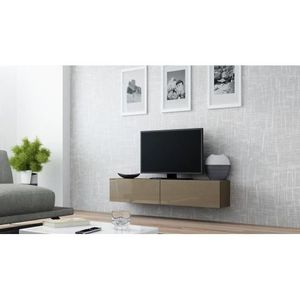 Meuble tv taupe achat vente meuble tv taupe pas cher - Meuble tv taupe design ...