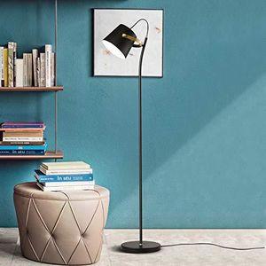LAMPADAIRE Lampadaire design moderne métal noir - Tête orient