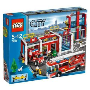 ASSEMBLAGE CONSTRUCTION Lego  Lego City - La Caserne des Pompiers