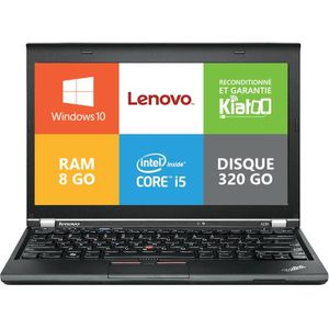 ORDINATEUR PORTABLE ordinateur portable lenovo thinkpad X230 core i5 8