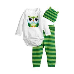 Ensemble de vêtements 0-24 Mois Pyjamas Bébé Garçon Fille Unisexe Nouvea