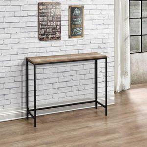 CONSOLE EXTENSIBLE Table de Console Style Industriel - L 105 cm