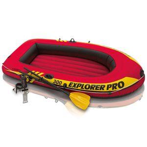 ANNEXE GONFLABLE Set bateau gonflable avec rames + pompe Intex Expl