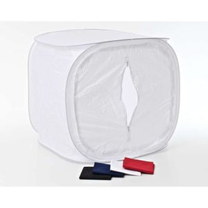 TENTE DE CAMPING Tente Lumière coloris blanc - 120 x 120 cm