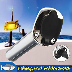 Canne à pêche détenteurs x 3 côté monté avec s s clips et vis
